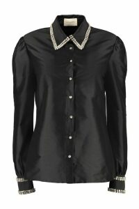 Giuseppe di Morabito Embroidered Collar And Cuffs Shirt