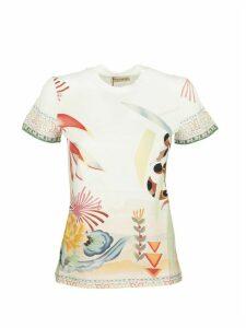 Etro T-shirt Print White