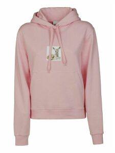 Burberry Fawn Printed Hoodie