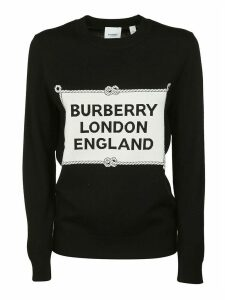 Burberry Rib Logo Jumper