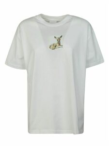 Burberry Fawn Printed T-shirt