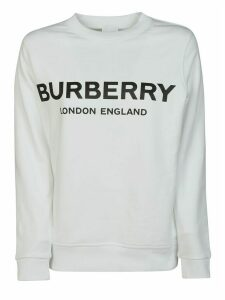 Burberry Logo Printed Sweatshirt