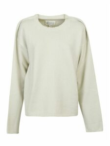 Maison Margiela Ribbed Sweatshirt