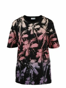 Saint Laurent Dyp-dye Printed T-shirt
