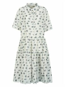 Cecilie Bahnsen Short-sleeve Motif Print Dress