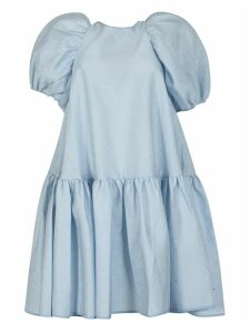 Cecilie Bahnsen Capped Sleeve Mid-length Oversized Dress
