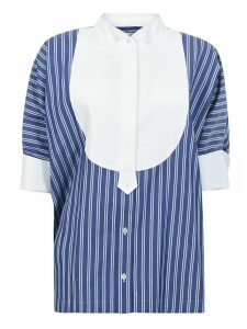 Sacai Striped Buttoned Shirt
