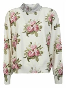 Paco Rabanne Flower Print Sweater