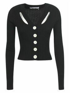 Proenza Schouler Buttoned Cropped Cardigan