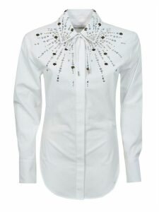 Paco Rabanne Embellished Chest Detail Shirt