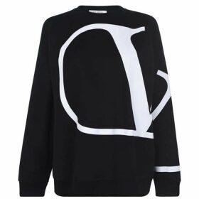 Valentino Oversized Logo Sweatshirt