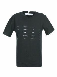 Proenza Schouler Printed Front T-shirt