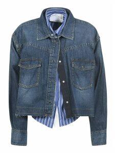 Sacai Cropped Denim Jacket