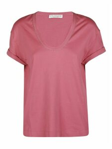 Brunello Cucinelli Pink Cotton T-shirt