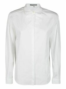 Agnona White Cotton Shirt