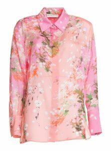 Givenchy Floreal Print Shirt