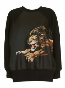 Givenchy Lion Print Sweatshirt