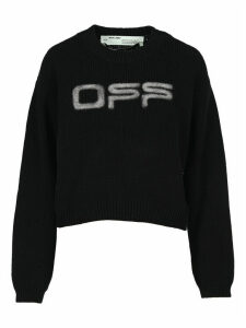 Off White Logo Knit Sweater