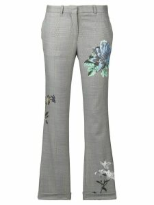 Each X Other floral print tailored trousers - Grey