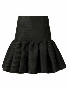 MSGM short ruffled skirt - Black