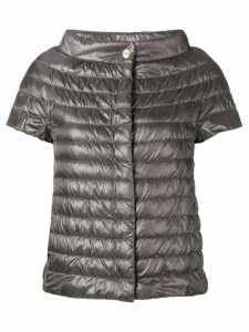 Herno short-sleeved padded jacket - Grey