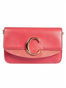 Chloé Plaque C Logo Shoulder Bag
