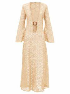 Dodo Bar Or - Jane Cotton-crochet Maxi Dress - Womens - Beige