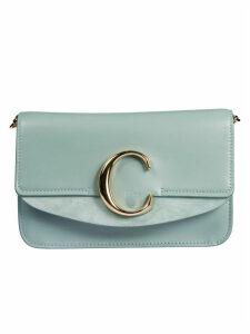 Chloé Logo Plaque Mini Shoulder Bag