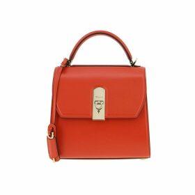 Salvatore Ferragamo Handbag Salvatore Ferragamo Boxyz Medium Bag In Leather With Flap