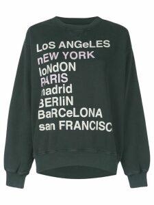 ANINE BING city love sweatshirt - Grey