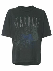 ANINE BING stardust print T-shirt - Black