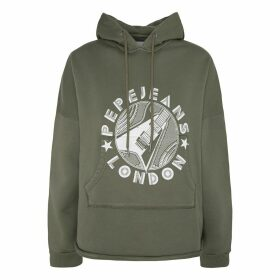 Hoodie with Pattern on Front