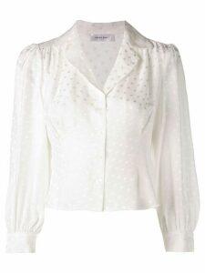 ANINE BING Lenora shirt - White