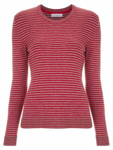 Nk knitted striped top - Red