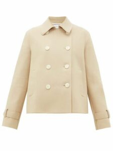 Harris Wharf London - Double-breasted Pressed-wool Jacket - Womens - Camel