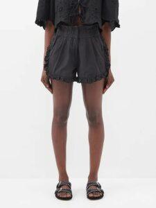 Miu Miu - Prince Of Wales-check Virgin Wool Blazer - Womens - Beige Multi