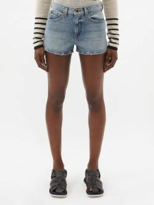 Miu Miu - Houndstooth Virgin Wool Single-breasted Coat - Womens - Grey