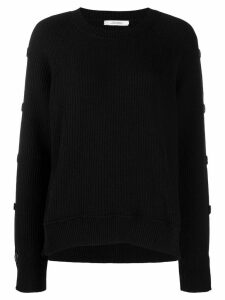 Dorothee Schumacher button sleeves jumper - Black
