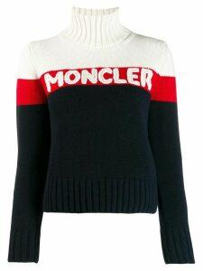 Moncler branded jumper - Blue