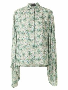 Olympiah Glycine printed shirt - Green