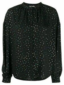 Essentiel Antwerp Voulez Vous dotted blouse - Black