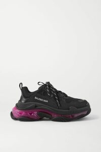 Givenchy - Lace-trimmed Knitted Sweater - Black