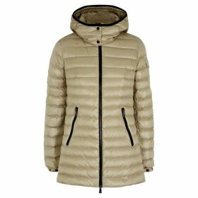 Moncler Menthe Stone Quilted Shell Jacket