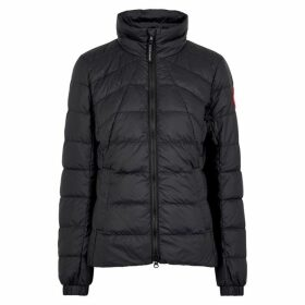 Canada Goose Abbott Black Quilted Shell Jacket