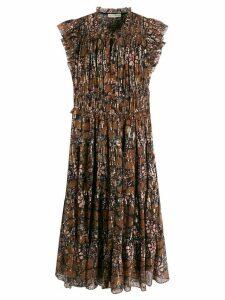 Ulla Johnson Renata printed dress - Brown