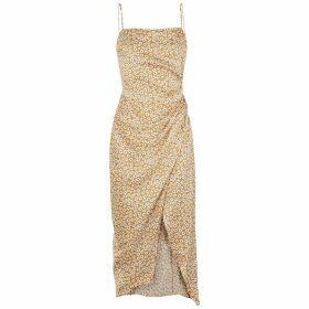Bec & Bridge Zoe Floral-print Silk Midi Dress