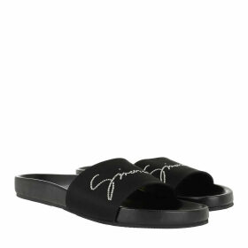 Givenchy Loafers & Slippers - Crystal Satin Slides Black - black - Loafers & Slippers for ladies