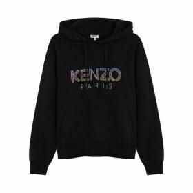 Kenzo Logo-embellished Hooded Cotton Sweatshirt