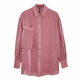Palones Debbie Pink Organza Shirt