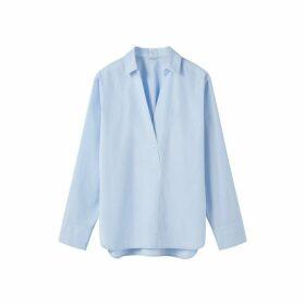 Jigsaw Cotton Poplin Oversized Shirt
